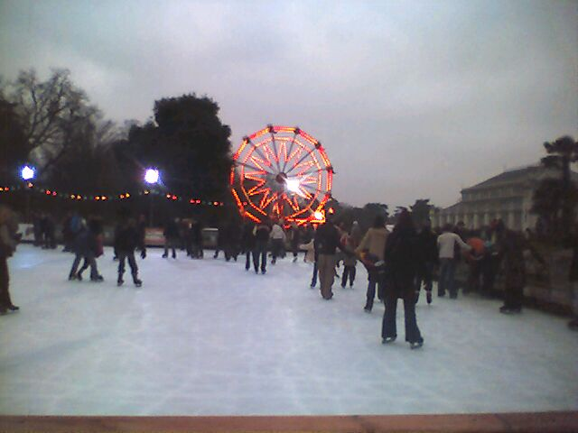 the 2004 ice rink at kew garden