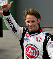 Jenson Button won!
