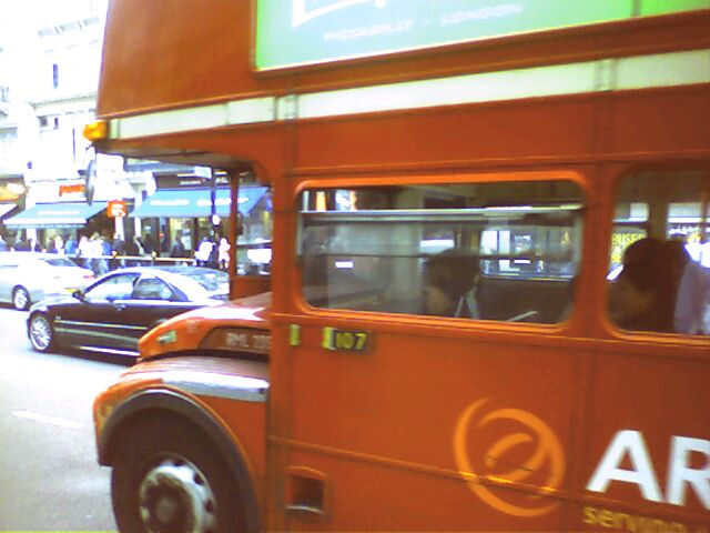 A London Routemaster Bus, 2004