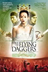 House of the flying Daggers movie poster