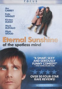 Eterna lSunshine of the Spotless Mind DVD cover