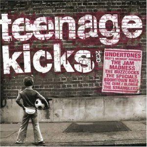 Cover of the Teenage Kicks CD