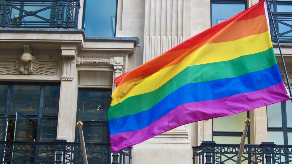 Pride Flag in London